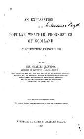 An Explanation of the Popular Weather Prognostics of Scotland on Scientific Principles