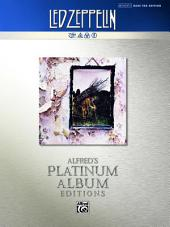 Led Zeppelin - Untitled (IV) Platinum Bass Guitar: Authentic Bass TAB
