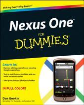 Nexus One For Dummies