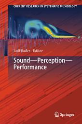 Sound - Perception - Performance