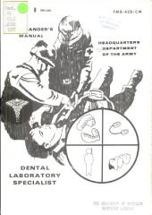 Commander's Manual: Dental Laboratory Specialist