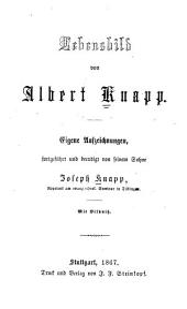 Lebensbild von Albert Knapp