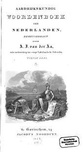Aardrijkskundig Woordenboek der Nederlanden: S, Volume 10