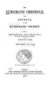 The Numismatic Chronicle: Volume 18