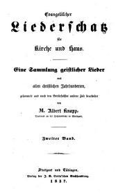 Evangelischer Liederschatz für Kirche u. Haus