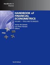 Handbook of Financial Econometrics, Vol 1: Tools and Techniques