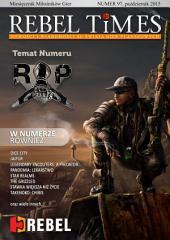 REBEL TIMES 97: Nowości i wiadomości ze świata gier planszowych