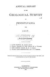 Annual Report of the Geological Survey of Pennsylvania for ...