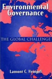 Environmental Governance: The Global Challenge