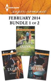 Harlequin Superromance February 2014 - Bundle 1 of 2: His Forever Girl\Moonlight in Paris\Wife by Design