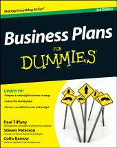 Business Plans For Dummies: Edition 3