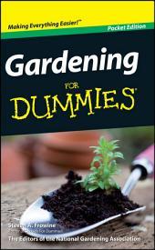 Gardening For Dummies, Mini Edition