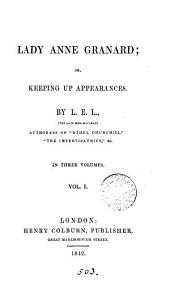 Lady Anne Granard; or, Keeping up appearances
