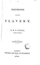 Testimonies Concerning Slavery