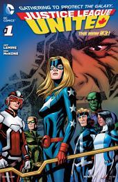 Justice League United (2014- ) #1