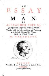An essay on man. In four epistles