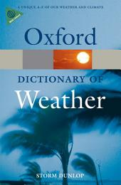 A Dictionary of Weather: Edition 2
