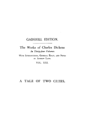 A Tale of Two Cities ~ Paperbound
