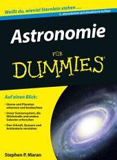 Astronomie für Dummies: Ausgabe 4