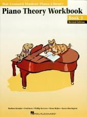 Piano Theory Workbook - Book 3 Edition (Music Instruction): Hal Leonard Student Piano Library