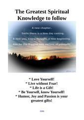 Mental Awakening: Greatest Spiritual Knowledge to follow Guide!