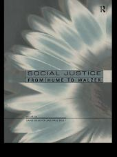 Perspectives on Social Justice: From Hume to Walzer