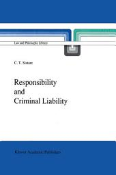 Responsibility and Criminal Liability