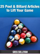 25 Pool & Billard Articles To Lift Your Game