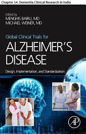 Global Clinical Trials for Alzheimer's Disease: Chapter 14. Dementia Clinical Research in India