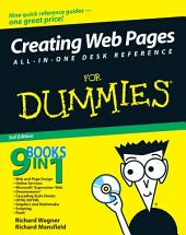 Creating Web Pages All-in-One Desk Reference For Dummies: Edition 3