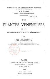 Des plantes vénéneuses et des empoisonnements qu'elles déterminent