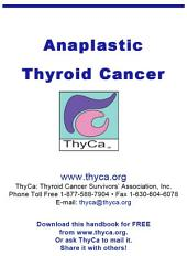 Anaplastic Thyroid Cancer