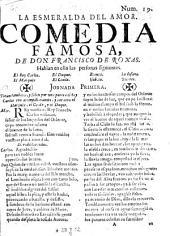 La esmeralda del amor: comedia famosa