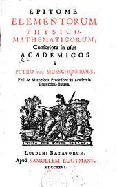 Epitome elementorum physico-mathematicorum