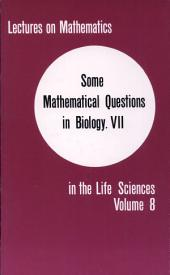 Some Mathematical Questions in Biology