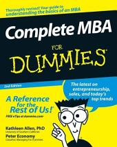 Complete MBA For Dummies: Edition 2