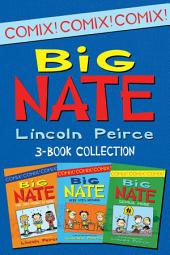 Big Nate Comics 3-Book Collection: What Could Possibly Go Wrong?, Here Goes Nothing, Genius Mode