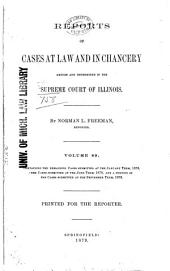 Illinois Reports: Official Reports of the Supreme Court of Illinois