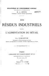 Des résidus industriels dans l'alimentation du bétail