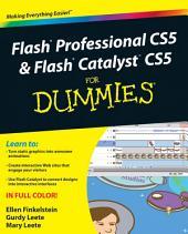 Flash Professional CS5 and Flash Catalyst CS5 For Dummies