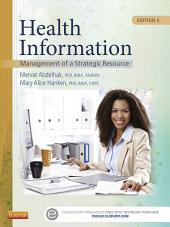 Health Information: Management of a Strategic Resource, Edition 5