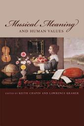 Musical Meaning and Human Values