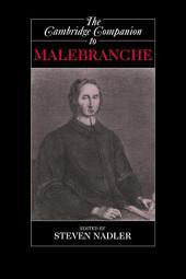 The Cambridge Companion to Malebranche