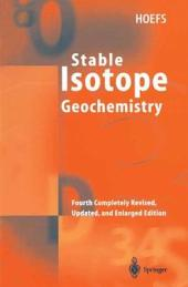 Stable Isotope Geochemistry: Edition 4