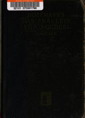 Das Fräulein von Scuderi: Erzählung aus dem Zeitalter Ludwig des Viersehnten