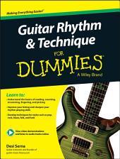 Guitar Rhythm & Technique For Dummies