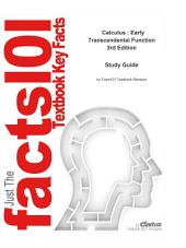 e-Study Guide for: Calculus : Early Transcendental Function by Robert T. Smith, ISBN 9780073309446: Edition 3