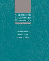 A Transition to Advanced Mathematics: Edition 8