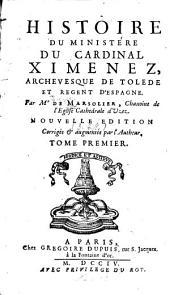 Historie du ministère du Cardinal Ximenez