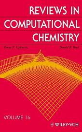 Reviews in Computational Chemistry: Volume 16